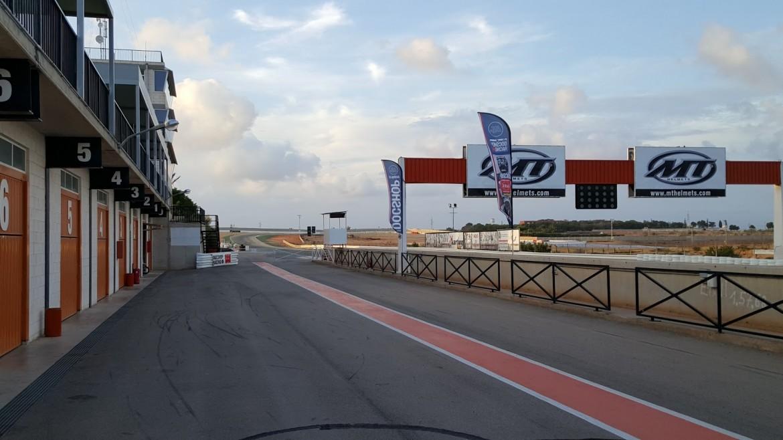 Circuit de Cartagena-pitstraat
